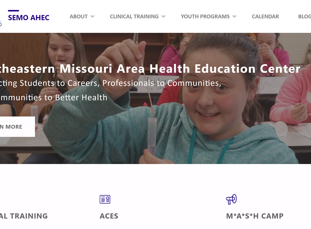 SEMO AHEC website screenshot